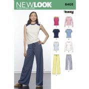 6403  New Look Pattern: Women's Easy Separates